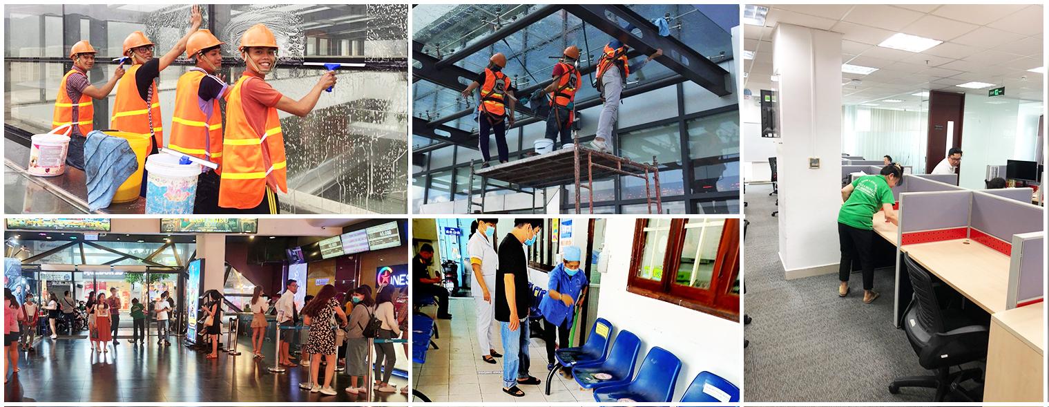 Dịch vụ vệ sinh Tại Kiên Giang